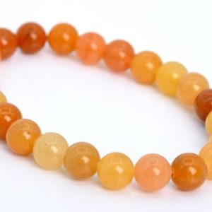 Shop Aventurine Bracelets! 23 Pcs – 8MM Orange Yellow Aventurine Beads Bracelet Grade AAA Natural Round Gemstone (106660h-1353) | Natural genuine Aventurine bracelets. Buy crystal jewelry, handmade handcrafted artisan jewelry for women.  Unique handmade gift ideas. #jewelry #beadedbracelets #beadedjewelry #gift #shopping #handmadejewelry #fashion #style #product #bracelets #affiliate #ad