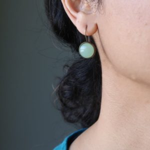 Shop Aventurine Earrings! Green Aventurine Earrings Tokens of Abundance | Natural genuine Aventurine earrings. Buy crystal jewelry, handmade handcrafted artisan jewelry for women.  Unique handmade gift ideas. #jewelry #beadedearrings #beadedjewelry #gift #shopping #handmadejewelry #fashion #style #product #earrings #affiliate #ad