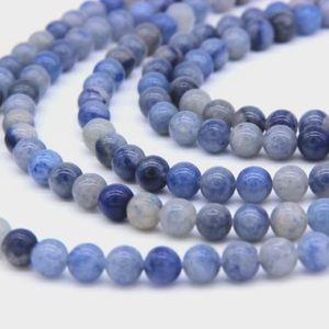 Shop Aventurine Beads! Natrual Blue Aventurine Beads 6mm 8mm 10mm 12mm Navy Blue Beads Sapphire Blue Gemstone Beads Aventurine Mala Beads Blue Mala Beads Supplies | Natural genuine beads Aventurine beads for beading and jewelry making.  #jewelry #beads #beadedjewelry #diyjewelry #jewelrymaking #beadstore #beading #affiliate #ad