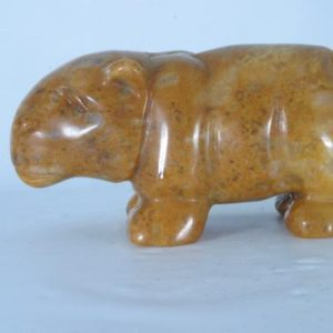 Shop Raw & Rough Aventurine Stones! Yellow Aventurine Hand Carved Hippo Collectors Specimen, Handcrafted Hippopotamus Sculpture, Gemstone Statue House Hippo | Natural genuine stones & crystals in various shapes & sizes. Buy raw cut, tumbled, or polished gemstones for making jewelry or crystal healing energy vibration raising reiki stones. #crystals #gemstones #crystalhealing #crystalsandgemstones #energyhealing #affiliate #ad