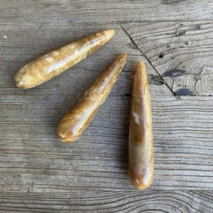 Shop Calcite Points & Wands! Honey Calcite Wands WS8275A WS8275B WS8275C | Natural genuine stones & crystals in various shapes & sizes. Buy raw cut, tumbled, or polished gemstones for making jewelry or crystal healing energy vibration raising reiki stones. #crystals #gemstones #crystalhealing #crystalsandgemstones #energyhealing #affiliate #ad