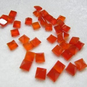 Shop Carnelian Cabochons! 1 pieces 10mm Carnelian Pyramid Square Cabochon Gemstone, Carnelian Square Pyramid Flat Gemstone, ORANGE Carnelian Pyramid Square Gemstone | Natural genuine stones & crystals in various shapes & sizes. Buy raw cut, tumbled, or polished gemstones for making jewelry or crystal healing energy vibration raising reiki stones. #crystals #gemstones #crystalhealing #crystalsandgemstones #energyhealing #affiliate #ad