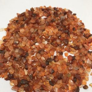 Shop Carnelian Chip & Nugget Beads! Carnelian Chips 3x5mm 50 gm/Carnelian/ Chips/Semiprecious beads/stone beads/ rare beads/Gemstone beads | Natural genuine chip Carnelian beads for beading and jewelry making.  #jewelry #beads #beadedjewelry #diyjewelry #jewelrymaking #beadstore #beading #affiliate #ad