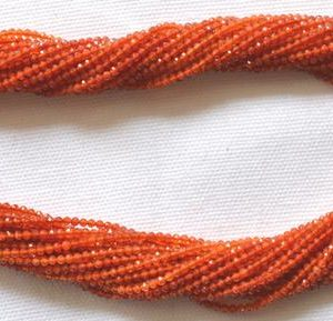 Shop Carnelian Faceted Beads! Natural Carnelian Rondelle Beads, Carnelian Gemstone Beads, Faceted Carnelian Loose Beads, Gemstone For Jewelry 2.20mm, 13 Inch #GNPP0186 | Natural genuine faceted Carnelian beads for beading and jewelry making.  #jewelry #beads #beadedjewelry #diyjewelry #jewelrymaking #beadstore #beading #affiliate #ad
