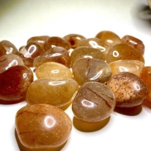 Shop Tumbled Carnelian Crystals & Pocket Stones! Carnelian Tumbled Stones from Brazil | Natural genuine stones & crystals in various shapes & sizes. Buy raw cut, tumbled, or polished gemstones for making jewelry or crystal healing energy vibration raising reiki stones. #crystals #gemstones #crystalhealing #crystalsandgemstones #energyhealing #affiliate #ad
