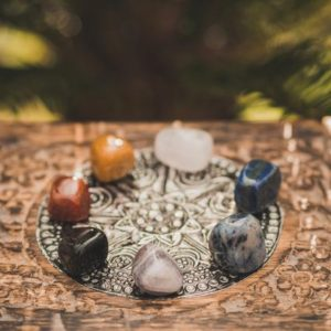 Shop Chakra Stone Sets! Chakra stone set, Crystals Set 7 chakras crystals and stones, wellbeing stones pouch, wellness tumbled stones, crystal gift, wellness gift | Shop jewelry making and beading supplies, tools & findings for DIY jewelry making and crafts. #jewelrymaking #diyjewelry #jewelrycrafts #jewelrysupplies #beading #affiliate #ad