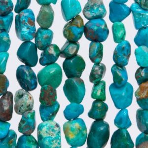 44-48 / 22-24 Pcs – 3-5MM Multicolor Chrysocolla Beads Grade AAA Genuine Natural Pebble Nugget Gemstone Beads (108439) | Natural genuine chip Chrysocolla beads for beading and jewelry making.  #jewelry #beads #beadedjewelry #diyjewelry #jewelrymaking #beadstore #beading #affiliate #ad
