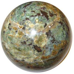 Shop Chrysoprase Shapes! Green Chrysoprase Sphere Wild Spirit Abundance Stone Crystal Ball | Natural genuine stones & crystals in various shapes & sizes. Buy raw cut, tumbled, or polished gemstones for making jewelry or crystal healing energy vibration raising reiki stones. #crystals #gemstones #crystalhealing #crystalsandgemstones #energyhealing #affiliate #ad