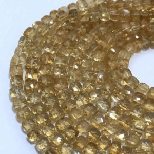Shop Citrine Faceted Beads! 7 – 8 mm Citrine Faceted Box  Gemstone Beads Strand Sale / Natural Citrine Wholesale / Citrine Jewllery / Citrine Faceted Box / 8 mm Beads | Natural genuine faceted Citrine beads for beading and jewelry making.  #jewelry #beads #beadedjewelry #diyjewelry #jewelrymaking #beadstore #beading #affiliate #ad