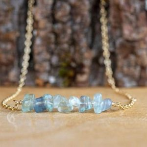 Shop Fluorite Necklaces! Raw Green Fluorite Necklace – Raw Crystal Necklace – Fluorite Gemstone – Crystal Chakra Balancing – Gift for Her –  Gemstone Necklace | Natural genuine Fluorite necklaces. Buy crystal jewelry, handmade handcrafted artisan jewelry for women.  Unique handmade gift ideas. #jewelry #beadednecklaces #beadedjewelry #gift #shopping #handmadejewelry #fashion #style #product #necklaces #affiliate #ad