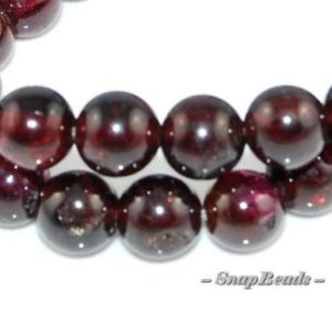 4mm Sangria Red Garnet Gemstone Round 4mm Loose Beads 15.5 inch Full Strand (90166312-149) | Natural genuine beads Array beads for beading and jewelry making.  #jewelry #beads #beadedjewelry #diyjewelry #jewelrymaking #beadstore #beading #affiliate #ad