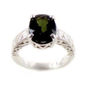 Shop Green Tourmaline Rings! Meditation Stone Rainbow Gemstone Tourmaline Ring Ancient Mythology Russian Gemstone Forest Green Tourmaline Gemstone Medieval Shaman #44047 | Natural genuine Green Tourmaline rings, simple unique handcrafted gemstone rings. #rings #jewelry #shopping #gift #handmade #fashion #style #affiliate #ad