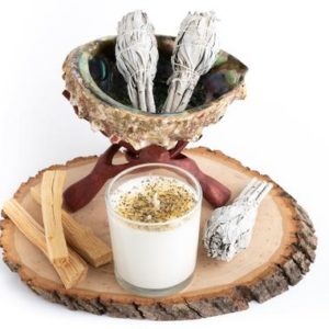 Shop Crystal Healing! Home Cleansing Kit, Home Smudging kit with abalone shell, Palo Santo, Sage -Cleansing Kit, Soy Candle, Sage Candle, Sage Smudge Kit – | Shop jewelry making and beading supplies, tools & findings for DIY jewelry making and crafts. #jewelrymaking #diyjewelry #jewelrycrafts #jewelrysupplies #beading #affiliate #ad