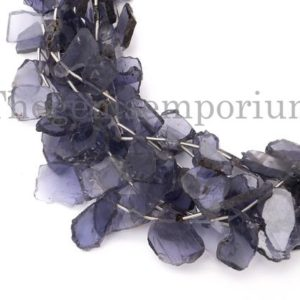 Shop Iolite Chip & Nugget Beads! Iolite Flat Fancy Nugget Beads , Iolite Nuggets Beads, Iolite Fancy Beads, Iolite Beads, Fancy Nuggets Beads, Iolite Beads, Iolite Flat Bead | Natural genuine chip Iolite beads for beading and jewelry making.  #jewelry #beads #beadedjewelry #diyjewelry #jewelrymaking #beadstore #beading #affiliate #ad