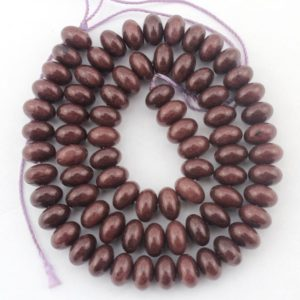 Shop Jade Rondelle Beads! Wholesale Brown Jade Beads, Full Strand,5x8mm Jade rondelle beads,Jade Gemstone beads,Diy jewelry  -15  inches– 80 Pieces—EBT106 | Natural genuine rondelle Jade beads for beading and jewelry making.  #jewelry #beads #beadedjewelry #diyjewelry #jewelrymaking #beadstore #beading #affiliate #ad