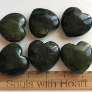 Shop Jade Shapes! Jade Gemstone Heart, Stone of Luck, 45mm, Spiritual Stone, Healing Stone, Healing Crystal, Chakra | Natural genuine stones & crystals in various shapes & sizes. Buy raw cut, tumbled, or polished gemstones for making jewelry or crystal healing energy vibration raising reiki stones. #crystals #gemstones #crystalhealing #crystalsandgemstones #energyhealing #affiliate #ad