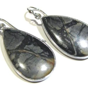 Shop Jasper Earrings! picasso Jasper  earrings  silver 925% | Natural genuine Jasper earrings. Buy crystal jewelry, handmade handcrafted artisan jewelry for women.  Unique handmade gift ideas. #jewelry #beadedearrings #beadedjewelry #gift #shopping #handmadejewelry #fashion #style #product #earrings #affiliate #ad