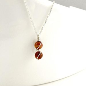 Shop Jasper Necklaces! Tiny Red Jasper Necklace, Courage necklace, Goddess Necklace, Crystal Necklace | Natural genuine Jasper necklaces. Buy crystal jewelry, handmade handcrafted artisan jewelry for women.  Unique handmade gift ideas. #jewelry #beadednecklaces #beadedjewelry #gift #shopping #handmadejewelry #fashion #style #product #necklaces #affiliate #ad