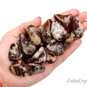 Shop Tumbled Jasper Crystals & Pocket Stones! One Printstone Zebra Jasper Tumbled Stone, Printstone Zebra Jasper Tumbled Stones, Zebra Jasper Tumbled Stones, Zodiac Jasper Stones, Gift | Natural genuine stones & crystals in various shapes & sizes. Buy raw cut, tumbled, or polished gemstones for making jewelry or crystal healing energy vibration raising reiki stones. #crystals #gemstones #crystalhealing #crystalsandgemstones #energyhealing #affiliate #ad