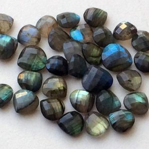 Shop Labradorite Shapes! 12-14mm Labradorite Rose Cut Heart Stones, Labradorite Both Side Faceted Gemstone, 4 Pieces Loose Blue Fire Faceted Gem For Jewelry – KS3256 | Natural genuine stones & crystals in various shapes & sizes. Buy raw cut, tumbled, or polished gemstones for making jewelry or crystal healing energy vibration raising reiki stones. #crystals #gemstones #crystalhealing #crystalsandgemstones #energyhealing #affiliate #ad