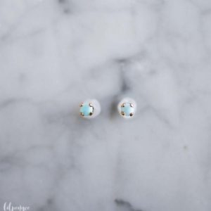 Shop Larimar Earrings! 3mm larimar studs.  light blue gemstone earrings. tiny gem stud. gold or silver | Natural genuine Larimar earrings. Buy crystal jewelry, handmade handcrafted artisan jewelry for women.  Unique handmade gift ideas. #jewelry #beadedearrings #beadedjewelry #gift #shopping #handmadejewelry #fashion #style #product #earrings #affiliate #ad