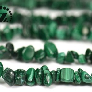 "Shop Malachite Chip & Nugget Beads! Malachite chips beads,nugget beads,Irregular beads,natural,Gemstone,DIY beads,5-10mm,35""full strand 