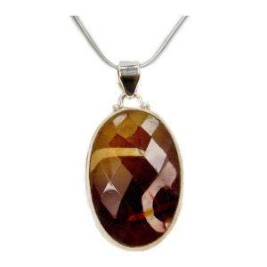 Shop Mookaite Necklaces! Mookaite Necklace & Sterling Silver W487 The Silver Plaza | Natural genuine Mookaite necklaces. Buy crystal jewelry, handmade handcrafted artisan jewelry for women.  Unique handmade gift ideas. #jewelry #beadednecklaces #beadedjewelry #gift #shopping #handmadejewelry #fashion #style #product #necklaces #affiliate #ad