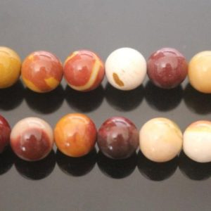 "Natural Mookaite beads Round Beads,Natural Mookaite beads,4mm 6mm 8mm 10mm 12mm 14mm Smooth and Round Beads,one strand 15"",Mookaite Beads 