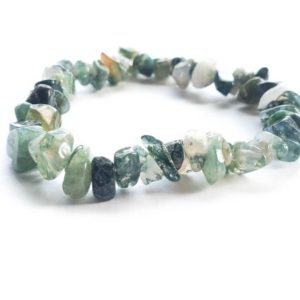 Shop Moss Agate Bracelets! Moss Agate Bracelet | Natural genuine Moss Agate bracelets. Buy crystal jewelry, handmade handcrafted artisan jewelry for women.  Unique handmade gift ideas. #jewelry #beadedbracelets #beadedjewelry #gift #shopping #handmadejewelry #fashion #style #product #bracelets #affiliate #ad