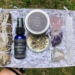Shop Crystal Healing! New Home set & Smudge Kit – Peaceful Home Candle White Sage lavender Smudge – Selenite, Rose Quartz, Amethyst, Agate house warming gift box | Shop jewelry making and beading supplies, tools & findings for DIY jewelry making and crafts. #jewelrymaking #diyjewelry #jewelrycrafts #jewelrysupplies #beading #affiliate #ad
