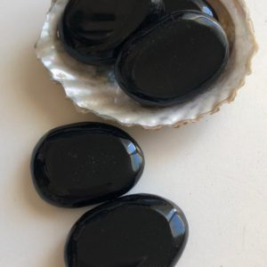 Shop Obsidian Shapes! Black Obsidian Small Palm Stone, Pocket Stone Stone, Smooth Touch Stone, Spiritual Stone, Healing Stone, Healing Crystal, Chakra   Natural genuine stones & crystals in various shapes & sizes. Buy raw cut, tumbled, or polished gemstones for making jewelry or crystal healing energy vibration raising reiki stones. #crystals #gemstones #crystalhealing #crystalsandgemstones #energyhealing #affiliate #ad