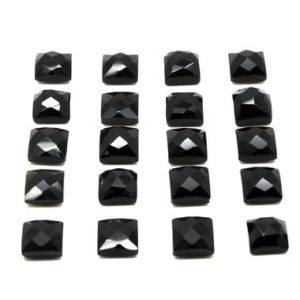 Shop Onyx Cabochons! Black gemstone cabochons,black onyx cabochon,gemstone cabochons,faceted cabochons,checker cut cabs,jewelry making supplies,AA Quality | Natural genuine stones & crystals in various shapes & sizes. Buy raw cut, tumbled, or polished gemstones for making jewelry or crystal healing energy vibration raising reiki stones. #crystals #gemstones #crystalhealing #crystalsandgemstones #energyhealing #affiliate #ad
