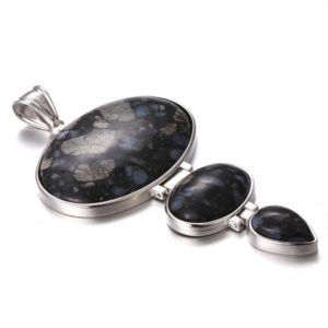 Shop Opal Pendants! Natural Gray Opal Connected Pendant (3 in 1) | Natural genuine Opal pendants. Buy crystal jewelry, handmade handcrafted artisan jewelry for women.  Unique handmade gift ideas. #jewelry #beadedpendants #beadedjewelry #gift #shopping #handmadejewelry #fashion #style #product #pendants #affiliate #ad