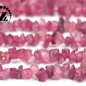 """Shop Pink Tourmaline Chip & Nugget Beads! Pink Tourmaline chip bead,nugget beads,irregular beads,Tourmaline,,Genuine,Natural,Gemstone,DIY Beads,Grade A,4-6mm,15"""" full strand 