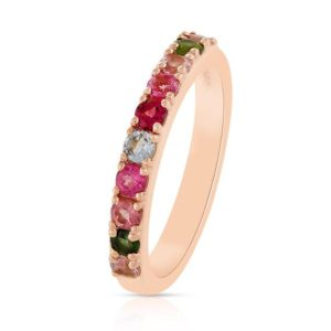 Shop Pink Tourmaline Rings! Natural Multi Tourmaline Gemstone Ring Gemstone and Sterling silver ring October Birthstone Ring Pink Tourmaline Ring Size US-7 Gift For Her | Natural genuine Pink Tourmaline rings, simple unique handcrafted gemstone rings. #rings #jewelry #shopping #gift #handmade #fashion #style #affiliate #ad