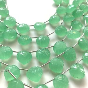 Shop Prehnite Shapes! Carved prehnite green chalcedony leaves | Natural genuine stones & crystals in various shapes & sizes. Buy raw cut, tumbled, or polished gemstones for making jewelry or crystal healing energy vibration raising reiki stones. #crystals #gemstones #crystalhealing #crystalsandgemstones #energyhealing #affiliate #ad