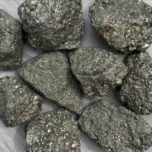 Shop Raw & Rough Pyrite Stones! Raw Pyrite Crystals | Natural genuine stones & crystals in various shapes & sizes. Buy raw cut, tumbled, or polished gemstones for making jewelry or crystal healing energy vibration raising reiki stones. #crystals #gemstones #crystalhealing #crystalsandgemstones #energyhealing #affiliate #ad