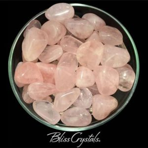 Shop Tumbled Rose Quartz Crystals & Pocket Stones! 1 Large Gemmy ROSE QUARTZ Tumbled Stone Extra Quality Find True Love #RQ53 | Natural genuine stones & crystals in various shapes & sizes. Buy raw cut, tumbled, or polished gemstones for making jewelry or crystal healing energy vibration raising reiki stones. #crystals #gemstones #crystalhealing #crystalsandgemstones #energyhealing #affiliate #ad