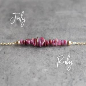 Shop Ruby Necklaces! Raw Ruby Necklace, Raw Stone Necklace, July Birthstone Necklace, Crystal Necklace, Ruby Birthstone Jewelry, Choker Necklace for Women | Natural genuine Ruby necklaces. Buy crystal jewelry, handmade handcrafted artisan jewelry for women.  Unique handmade gift ideas. #jewelry #beadednecklaces #beadedjewelry #gift #shopping #handmadejewelry #fashion #style #product #necklaces #affiliate #ad