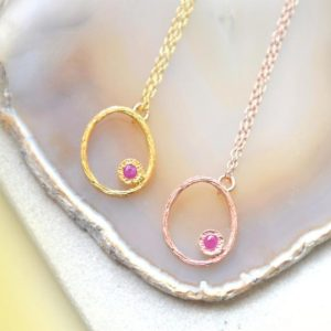 Shop Ruby Pendants! Ruby Necklace-Gold Ruby Pendant-Gold Oval Pendant-July Birthstone Necklace-Rose Gold Gemstone Necklace-Ruby Gemstone-Birthstone Pendant-Rose | Natural genuine Ruby pendants. Buy crystal jewelry, handmade handcrafted artisan jewelry for women.  Unique handmade gift ideas. #jewelry #beadedpendants #beadedjewelry #gift #shopping #handmadejewelry #fashion #style #product #pendants #affiliate #ad