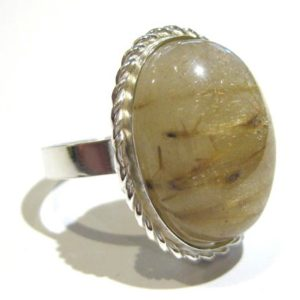 Shop Rutilated Quartz Rings! rutilated quartz ring silver 925% | Natural genuine Rutilated Quartz rings, simple unique handcrafted gemstone rings. #rings #jewelry #shopping #gift #handmade #fashion #style #affiliate #ad