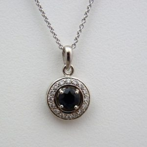 Shop Sapphire Pendants! Navy blue sapphire pendant, sapphire pendants, blue stone pendants, sapphire & diamond gold pendants, blue gemstone with white diamond halo | Natural genuine Sapphire pendants. Buy crystal jewelry, handmade handcrafted artisan jewelry for women.  Unique handmade gift ideas. #jewelry #beadedpendants #beadedjewelry #gift #shopping #handmadejewelry #fashion #style #product #pendants #affiliate #ad