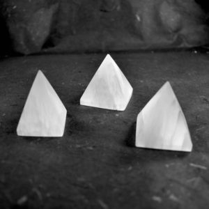 Short White Selenite Pyramid // Polished Selenite // Crystal Pyramid // Selenite Decor // Metaphysical Crystal // Village Silversmith | Natural genuine stones & crystals in various shapes & sizes. Buy raw cut, tumbled, or polished gemstones for making jewelry or crystal healing energy vibration raising reiki stones. #crystals #gemstones #crystalhealing #crystalsandgemstones #energyhealing #affiliate #ad