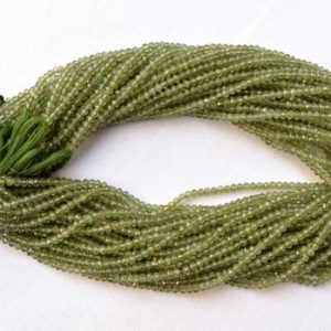 Shop Serpentine Faceted Beads! Serpentine Beads, Natural Serpentine Rondelle Beads, Green Serpentine Gemstone, Faceted Beads, 3.20mm 13 Inch, 5 Strand # GNPP0481 | Natural genuine faceted Serpentine beads for beading and jewelry making.  #jewelry #beads #beadedjewelry #diyjewelry #jewelrymaking #beadstore #beading #affiliate #ad