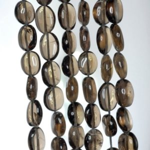 Shop Smoky Quartz Chip & Nugget Beads! 10×8-14x9mm Smoky Quartz Gemstone Pebble Nugget Loose Beads 14 inch Full Strand (90184879-894) | Natural genuine chip Smoky Quartz beads for beading and jewelry making.  #jewelry #beads #beadedjewelry #diyjewelry #jewelrymaking #beadstore #beading #affiliate #ad