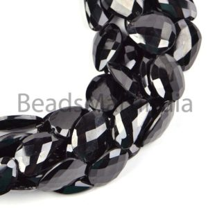 Shop Spinel Chip & Nugget Beads! Natural Black Spinel Faceted Flat Nugget Beads, Spinel Faceted Beads, Natural Black Spinel Beads, Black Spinel Nugget Shape Beads | Natural genuine chip Spinel beads for beading and jewelry making.  #jewelry #beads #beadedjewelry #diyjewelry #jewelrymaking #beadstore #beading #affiliate #ad