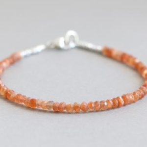 Shop Sunstone Bracelets! Sunstone Bracelet Gemstone Bracelet Autumn Jewelry Beaded Bracelet | Natural genuine Sunstone bracelets. Buy crystal jewelry, handmade handcrafted artisan jewelry for women.  Unique handmade gift ideas. #jewelry #beadedbracelets #beadedjewelry #gift #shopping #handmadejewelry #fashion #style #product #bracelets #affiliate #ad