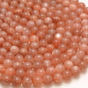 Shop Sunstone Round Beads! 8mm Orange Sunstone Gemstone Grade AA Round 8mm Loose Beads 15.5 inch Full Strand LOT 1,2,6,12 and 50 (90188694-91) | Natural genuine round Sunstone beads for beading and jewelry making.  #jewelry #beads #beadedjewelry #diyjewelry #jewelrymaking #beadstore #beading #affiliate #ad