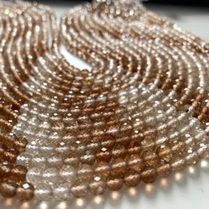 Shop Topaz Round Beads! SUPER QUALITY 1/2 strand imperial topaz round beads | Natural genuine round Topaz beads for beading and jewelry making.  #jewelry #beads #beadedjewelry #diyjewelry #jewelrymaking #beadstore #beading #affiliate #ad