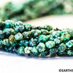 Shop Turquoise Chip & Nugget Beads! S/ Chinese Turquoise 4-6mmx Nugget loose beads. Full Strand. Stabilized green turquoise freeform nugget beads. Men's Jewelry Supply. | Natural genuine chip Turquoise beads for beading and jewelry making.  #jewelry #beads #beadedjewelry #diyjewelry #jewelrymaking #beadstore #beading #affiliate #ad
